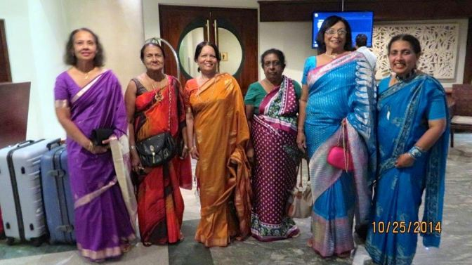 rio, ranjani, maithri, chandralatha, swarna and me